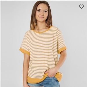 "LAZY SUNDAY ""Striped Dolman"" TOP (from Buckle)"